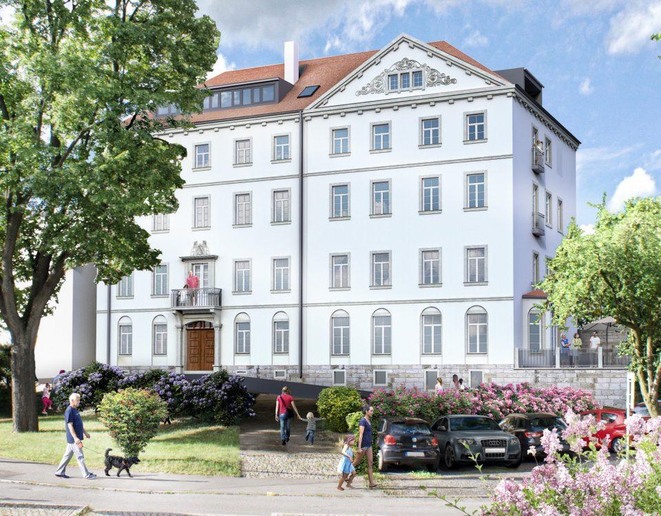 Schlossblick Seite